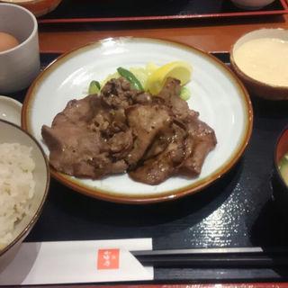 牛タン定食(たんやHAKATA)