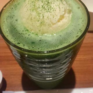 抹茶フロート(田頭茶舗 )