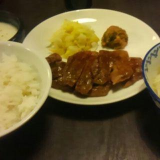牛タン定食(炭焼牛たん 東山 福岡天神店 )