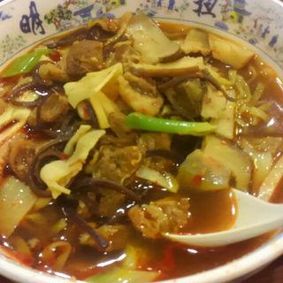 四川牛肉麺(大明担担麺)