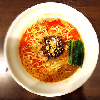 濃厚担々麺(細麺)(登竜門 )