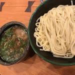 牛白湯のつけ麺