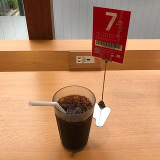 プレミアムアイスコーヒー(コロンビア豆100%) (モスバーガー 国分寺南口店 )