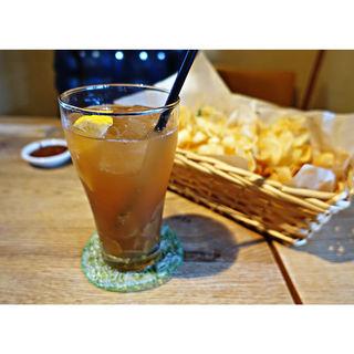 自家製ジンジャーエール、リボンフライ(No menu)(Esquerre Cafe)