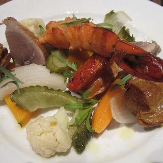 魚介類 と お野菜のスモーク(BISTRO FAVORI (ビストロ ファヴォリ))