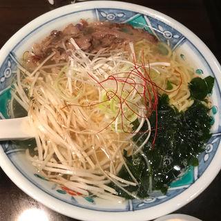 牛骨ラーメン(焼肉きたがき )