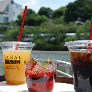 オレンジジュース(カナルカフェ (CANAL CAFE))