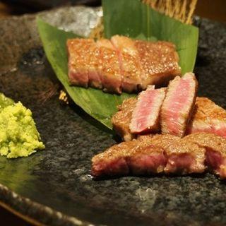宮崎牛のサーロインステーキ(鉄板焼いいさいいさ )