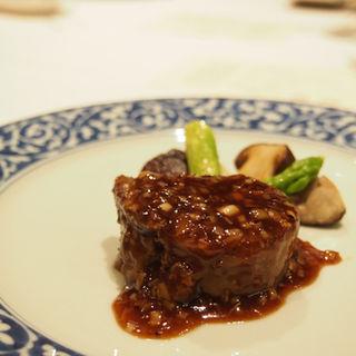 猪の黒胡椒炒め(海鮮名菜 香宮 (シャングウ))