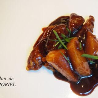 豚肉と根菜の黒酢酢豚(中華香彩JASMINE)