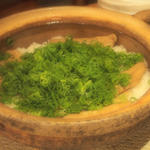 蒸し穴子の土鍋ご飯