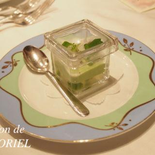 グリーンピースのムース(MONNALISA)