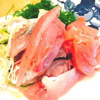 あじたたき定食(大衆割烹 三州屋 六本木店 (タイシュウカッポウサンシュウヤ))