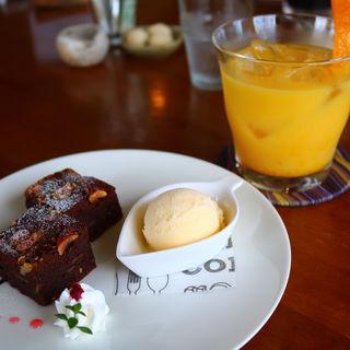 ガトーショコラ(ノラカフェ (nora cafe))