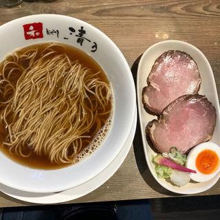 羅臼昆布と3種の本枯れ節小麦sobanoodles(和 dining 清乃 (セイノ))