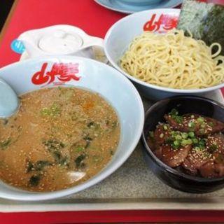 味噌つけ麺(山岡家 宮城野店 )
