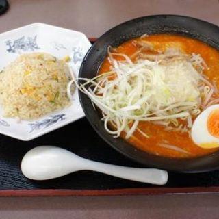 ガッツセット(くるまやラーメン 仙台郡山店 )