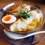 冷やしワンタン麺(らーめん 三福 )