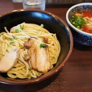 辛だくつけ麺(麺屋くまがい)