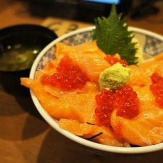 サーモンいくら丼(ぼんてん漁港 勾当台店 )
