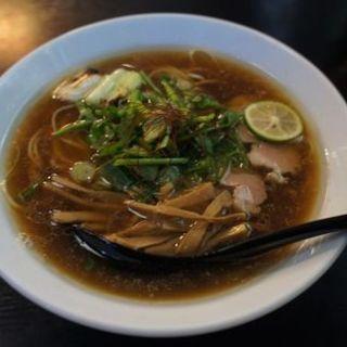 鴨醤油稲庭中華(ヘルズキッチン )