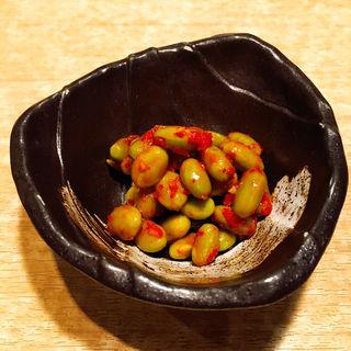 枝豆キムチ(七輪焼肉 肉屋 )