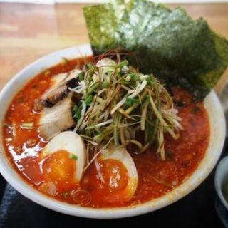 辛しネギみそラーメン(麺処 翁竹  (メンドコロオキナタケ))