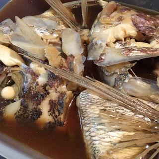 鯛かぶと煮(京味 (きょうあじ))