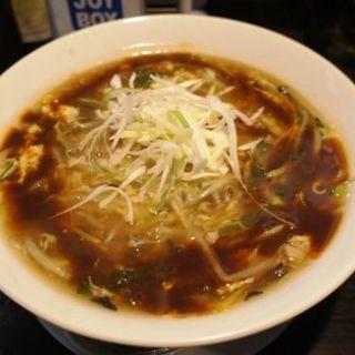 鯖酸辣湯麺(拉麺勇気 )