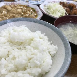 麻婆豆腐定食(ランチ限定)(千里)