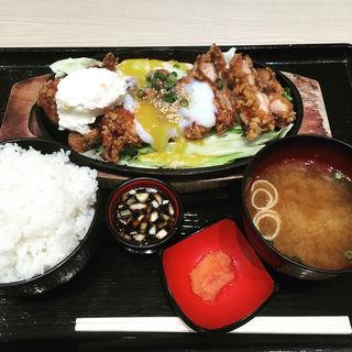 一枚唐揚げ御膳(鶏丼や博多華味鳥 ららぽーと豊洲店)
