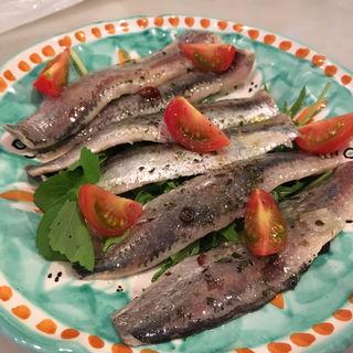 鮮魚のマリネ(イワシ)(アズーリ (Pizzeria Azzurri))
