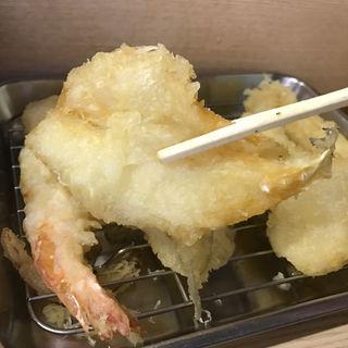 福天ぷら定食(キス)(天ぷら みうら)