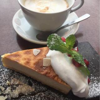 ベイクドチーズケーキ(kawara CAFE&DINING 新宿本店 (カワラ カフェアンドダイニング))