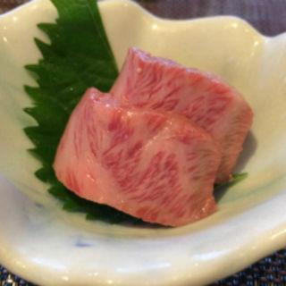 佐賀県ミスジの炙り(京松蘭はなれ (キョウショウランハナレ))