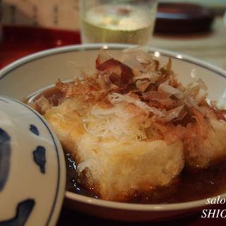 揚げ出し豆腐(ふた川 (かんさいかっぽう ふたがわ))