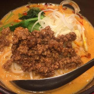 担々麺ハーフ(秀山 (シュウザン))