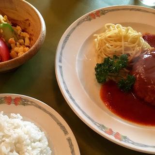 選べるランチセット(やわらかハンバーグ・ステーキ)(レストラン ビストロ )