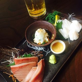 本日のお刺身お好み3種盛(わらべ菜魚洞 (わらべさいぎょどう))