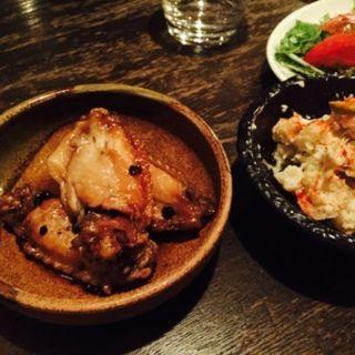 鶏手羽の有馬山椒煮(佐藤商店 )