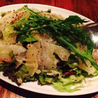 鯛とグレープフルーツのカルパッチョ(グラマシーテーブル )