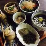 酒の肴盆(五種)