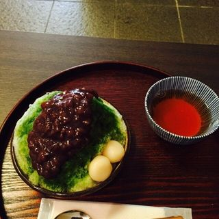あん麩氷(不むろ茶屋 (フムロチャヤ))