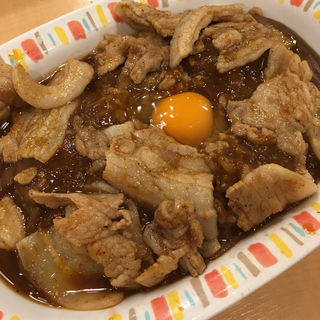 スタミナカレー 生玉子入り(バーグ 吉野町店 )