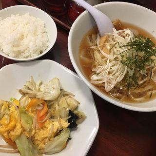 日替わり定食(会津喜多方ラーメン蔵 箱崎町店 )