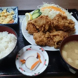 唐揚げ定食(中華飯店 紅蘭 (コウラン))