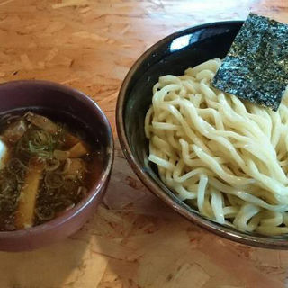 クラシックつけ麺+半熟味付け卵 (麺武者 )