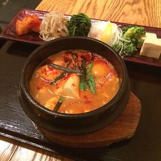 スンドゥブ定食(コチュ )