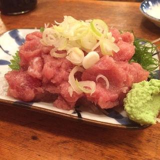 ねぎトロ(魚三酒場 富岡店 (うおさんさかば))