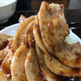 生姜焼き定食(ももどり伝説盛岡南店 )